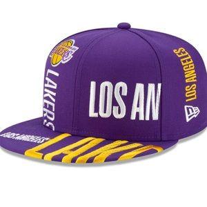 🆕 Lakers New Era Purple 2019 NBA TipOff Series